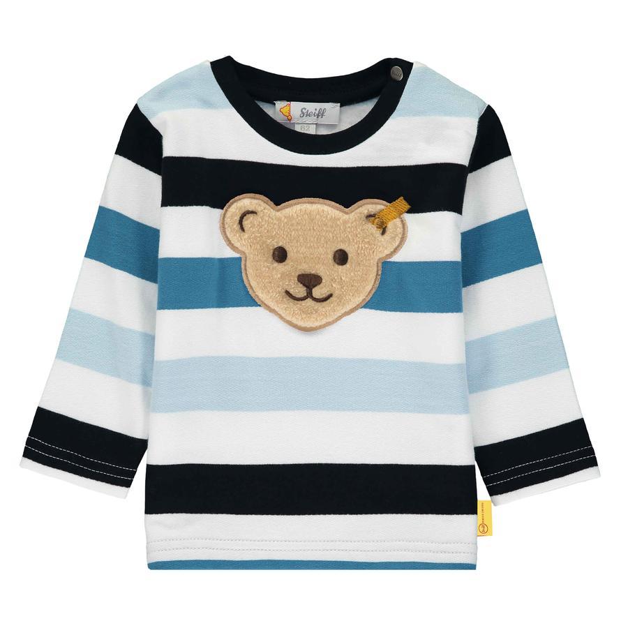 Steiff Sweatshirt pour garçons, black iris