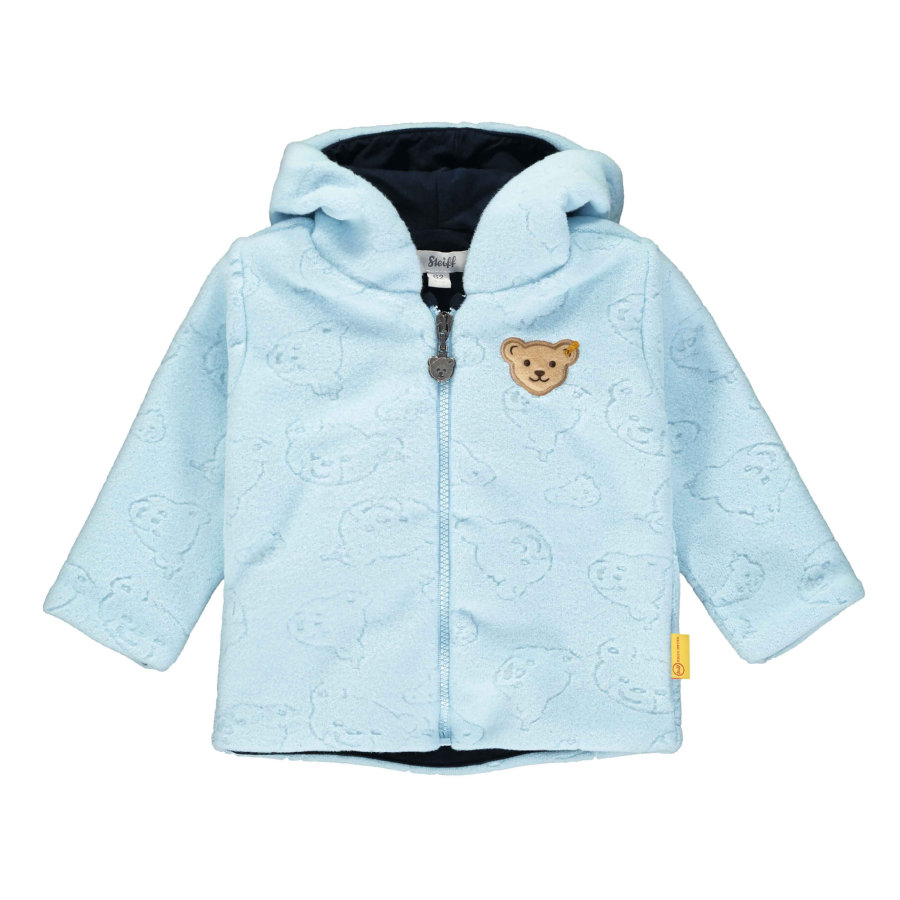 Steiff Boys Fleecejacke, winter sky