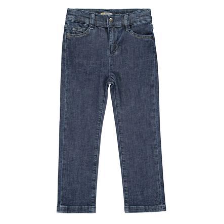 Steiff Girls Jeans, denim blu