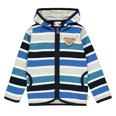 Steiff Boys sweatshirt, sort iris