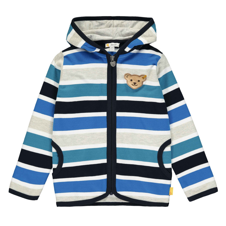 Steiff Boys Sweatjacke, black iris