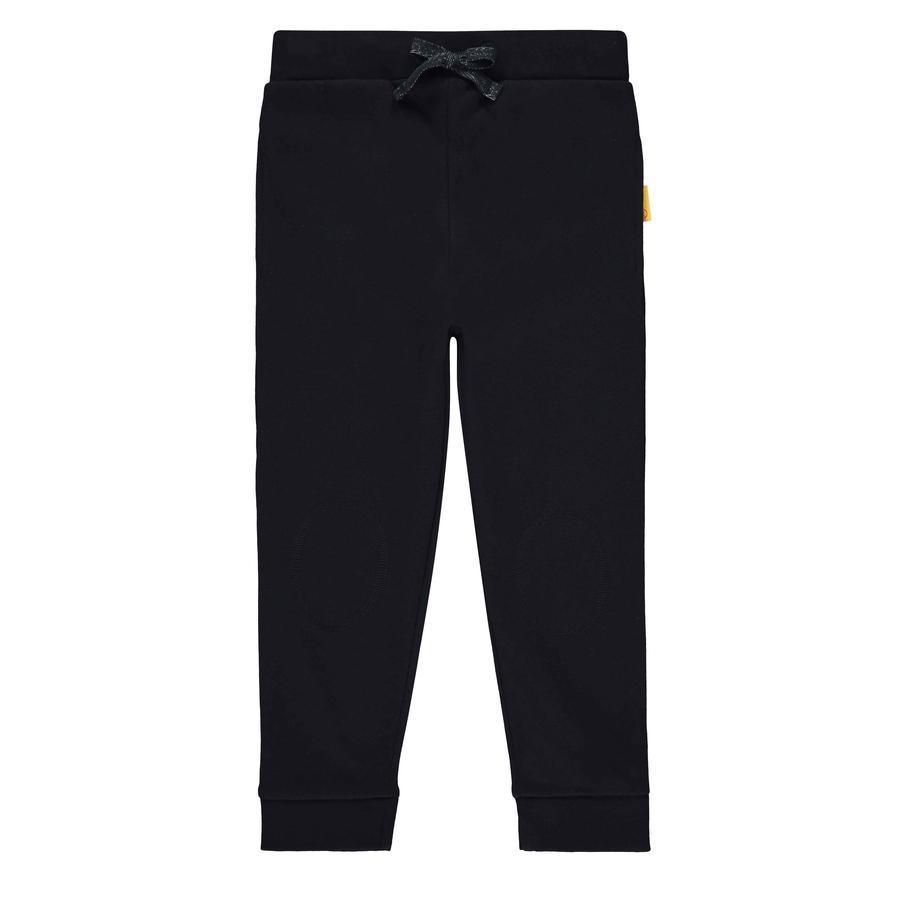 Steiff Pantalons de survêtement pour garçons, black iris