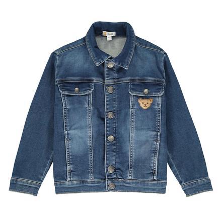 Džínová bunda Steiff Boys, modrá modrá