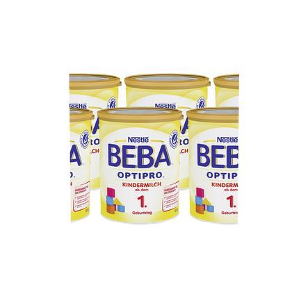 Nestlé BEBA OPTIPRO Kindermilch 1 6 x 800 g ab dem 1. Jahr