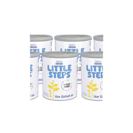 Nestlé LITTLE STEPS 1 Anfangsmilch 6 x 800g ab der Geburt
