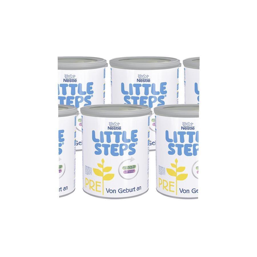 Nestlé LITTLE STEPS PRE Anfangsmilch 6 x 800g ab der Geburt