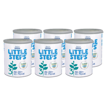 Nestlé LITTLE STEPS 3 Folgemilch 6 x 800 g ab dem 10. Monat
