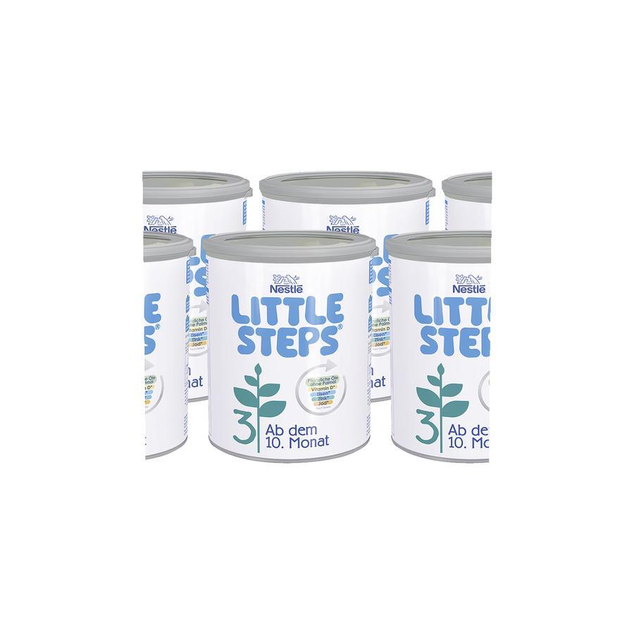 Nestlé LITTLE STEPS 3 seuraavaa maitoa 6 x 800 g kymmeneskuusta