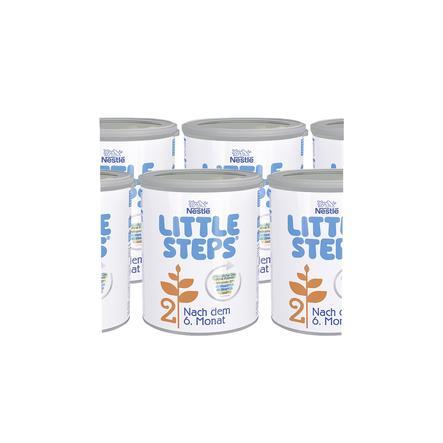 Nestlé LITTLE STEPS 2 Folgemilch 6 x 800g nach dem 6. Monat