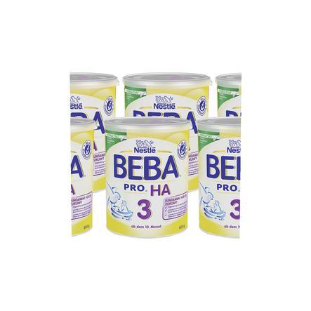 Nestlé BEBA PRO HA 3 Folgenahrung 6 x 800 g ab dem 10. Monat