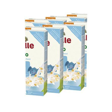 Holle Bio Juniormüsli Mehrkorn mit Cornflakes 8 x 250 g