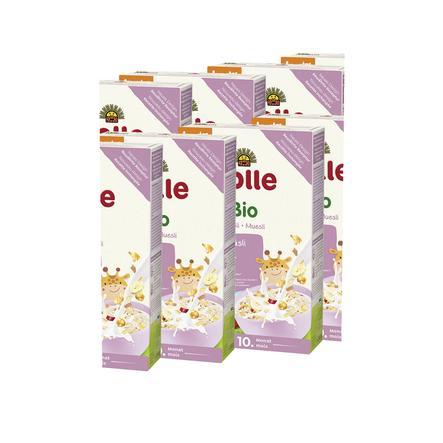Holle Bio Mehrkorn Juniormüsli mit Frucht 8 x 250 g