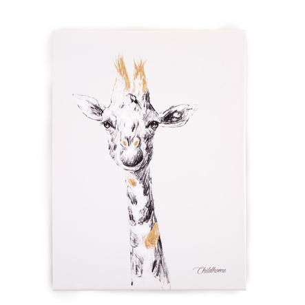CHILDHOME Ölgemälde Giraffe 30 x 40 cm