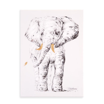 CHILDHOME Schilderij Olifant 30 x 40 cm
