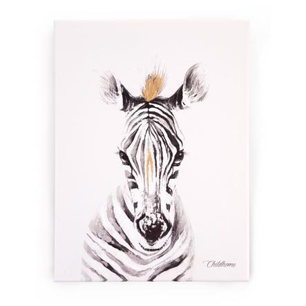 CHILDHOME Ölgemälde Zebra 30 x 40 cm