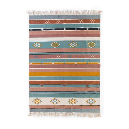 CHILDHOME Tapis enfant géométrique multicolore 120x160 cm