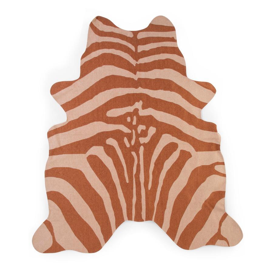 CHILDHOME Zebra Teppich nude 145 x 160 cm