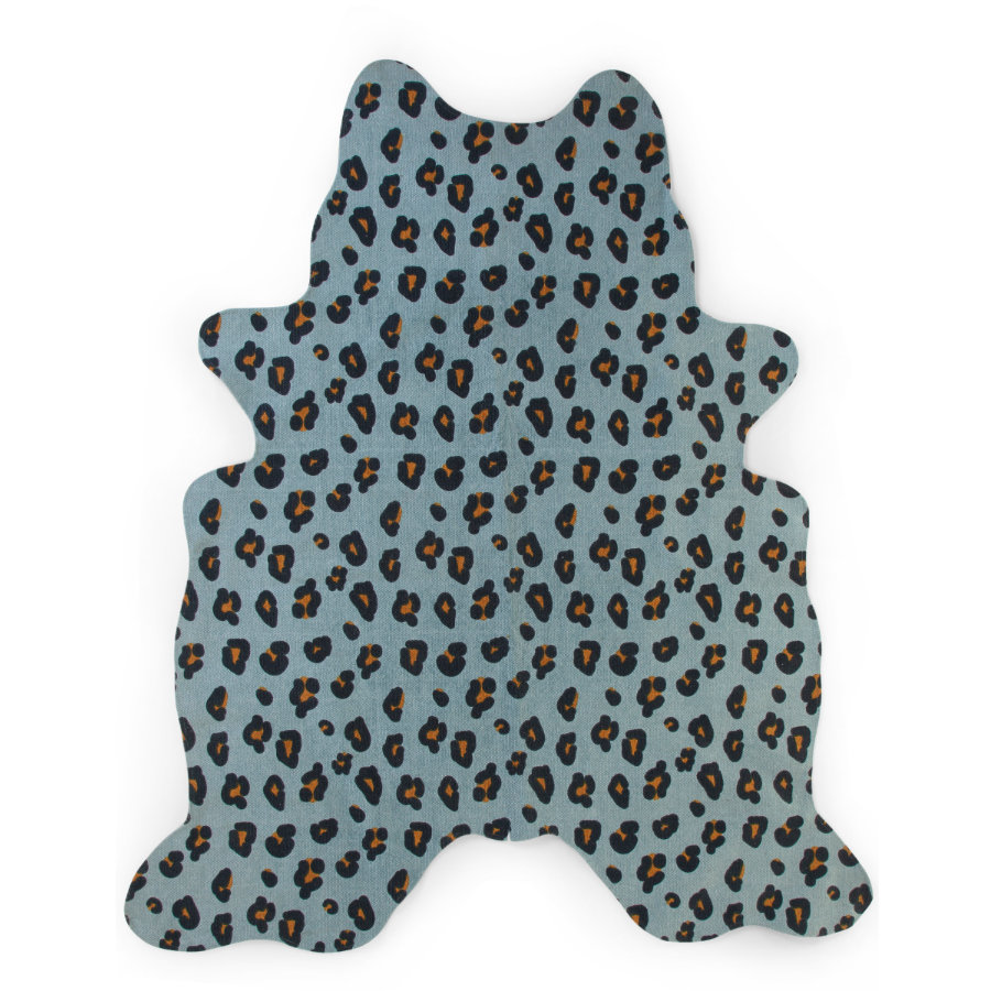 CHILDHOME Luipaard tapijt blauw 145 x 160 cm