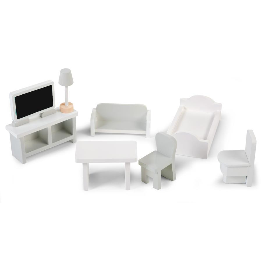 CHILDHOME Miniatur-Möbel 8 Stück