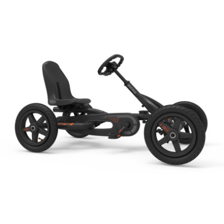 BERG Toys Pedal Go-Kart Buddy Graphite - edycja limitowana
