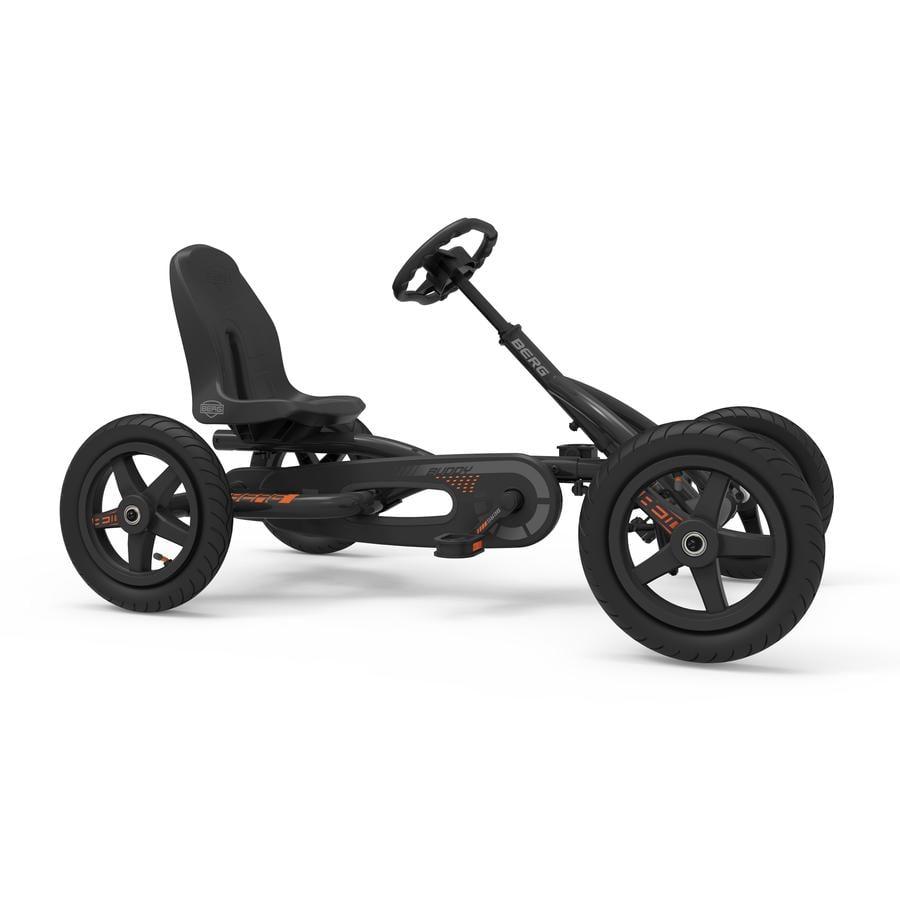 BERG Toys Go-Kart a pedali Buddy Graphite - Edizione limitata