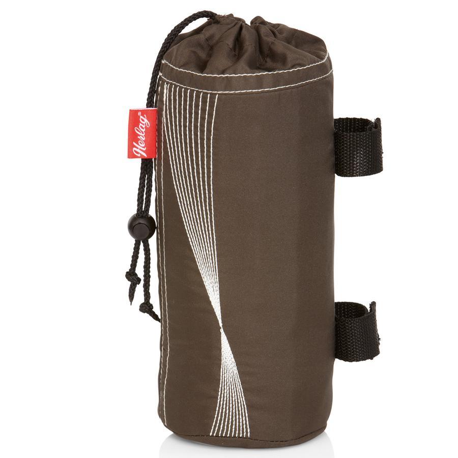 HERLAG Bottle Holder, dark brown