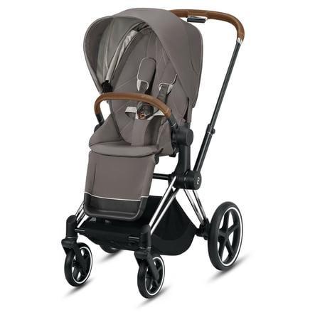 Cybex Platinum Kinderwagen Priam Rahmen Chrome Inklusive Lux Sitz In Soho Grey Babymarkt De