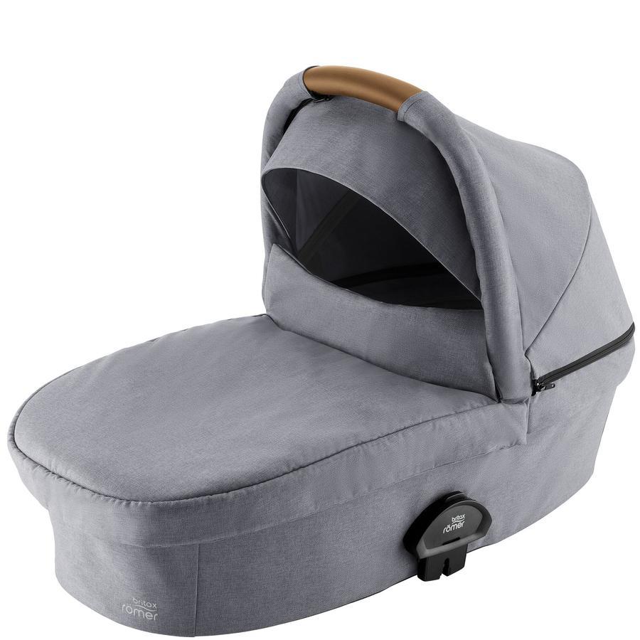Britax Römer Kinderwagenaufsatz Smile III Frost Grey, brown