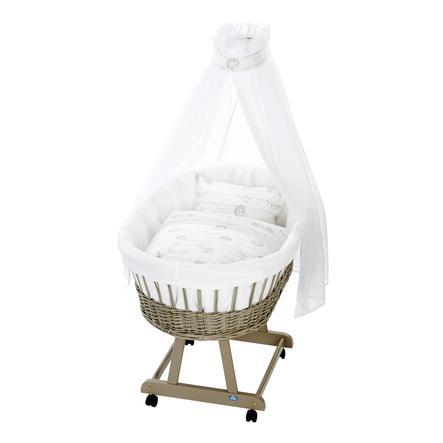 Alvi ® Kompletní vozík na kočky Birth e taupe, ostnatí přátelé
