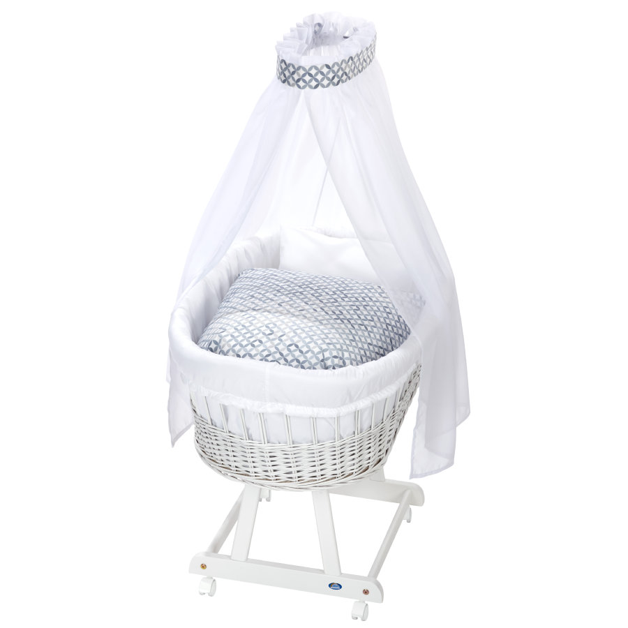 Alvi ® Complete Birth tube trolley e white, mozaika
