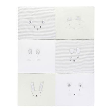 Alvi® Krabbeldecke Faces 100 x 135 cm