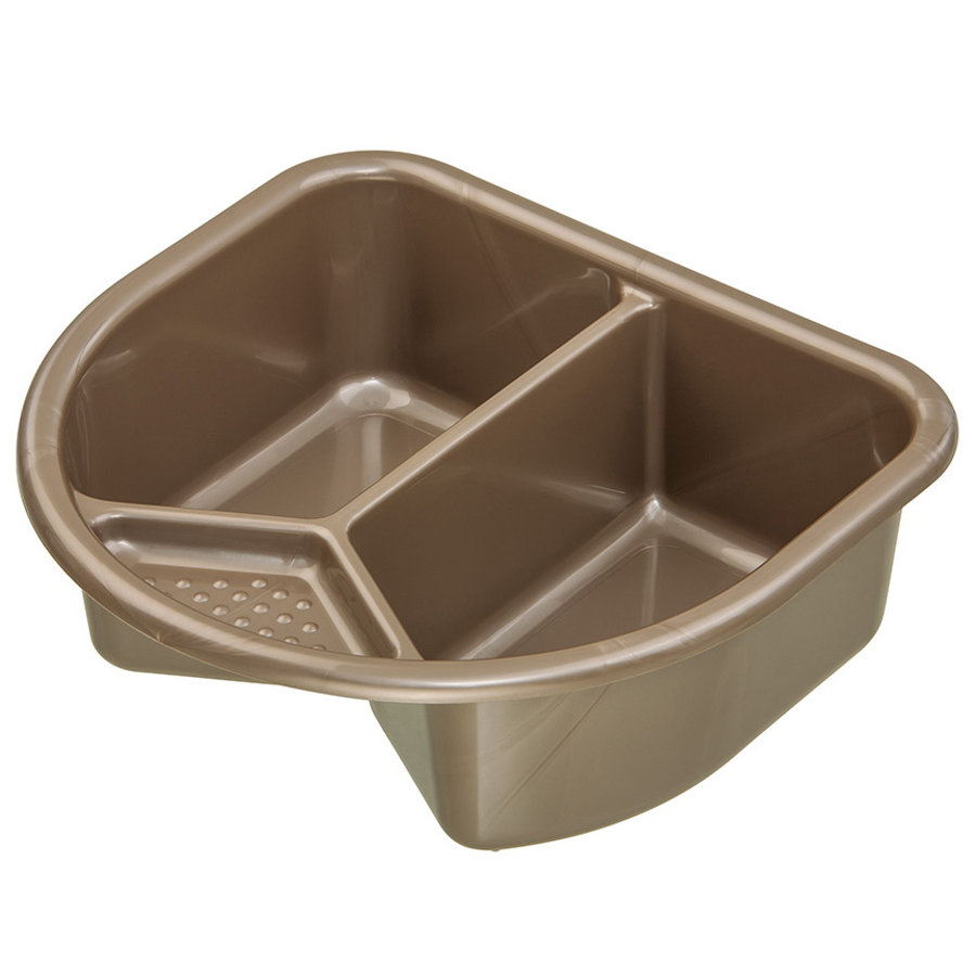 ROTHO TOP Wash Bowl Taupe Pearl