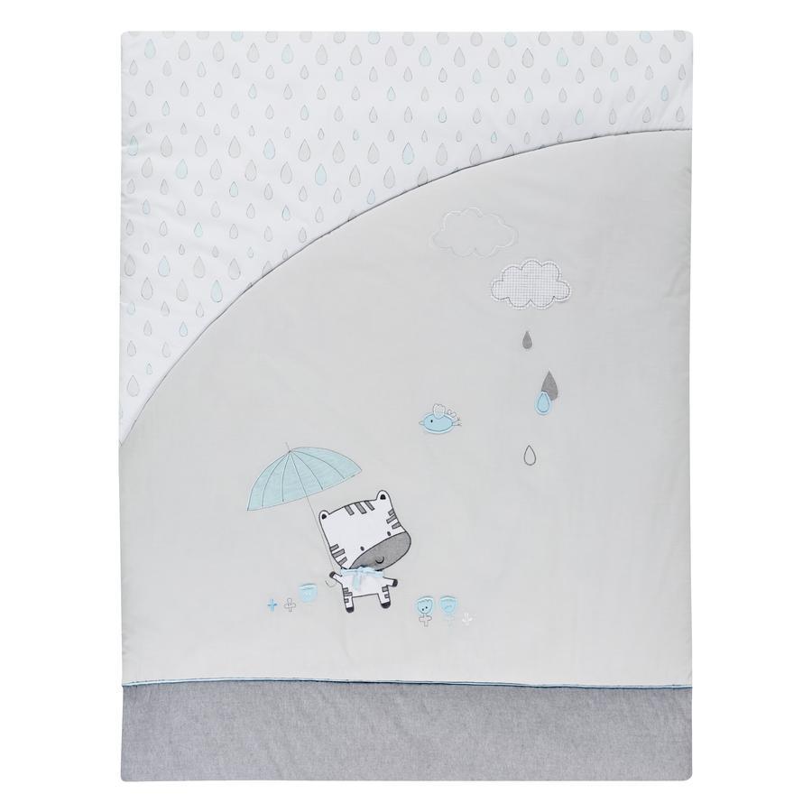 Alvi® Krabbeldecke Raindrops 100 x 135 cm