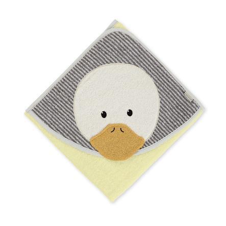 Sterntaler Asciugamano da bagno Edda giallo 80 cm x 80 cm
