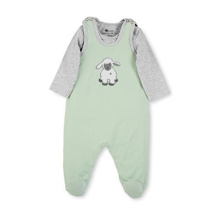 Sterntaler Ensemble grenouillère et t-shirt enfant Jersey Stanley vert clair
