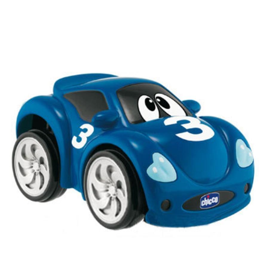 CHICCO Coche de carrera Turbo Touch azul oscuro