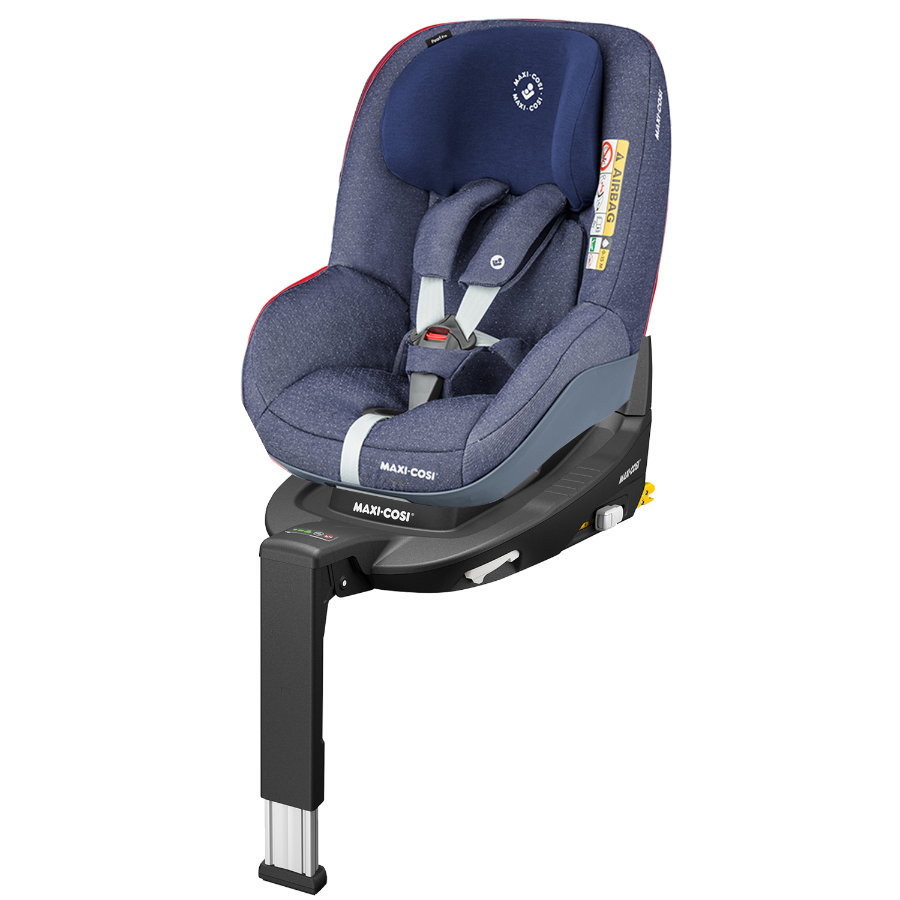MAXI COSI Pearl Pro i-Size barnesete Sparkling Blue inkl. 3WayFix base