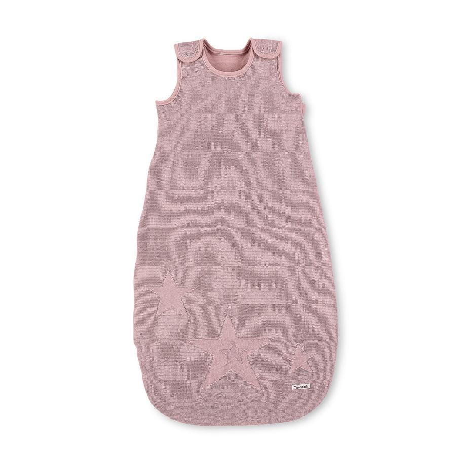 Sterntaler Strick Schlafsack rosa