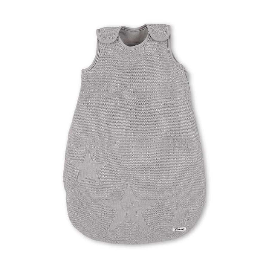 Sterntaler Gigoteuse bébé tricotée gris caillou