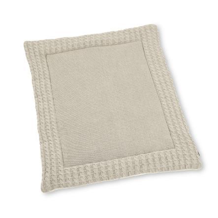 Sterntaler pletená prošívaná přikrývka ecru skvrnitá 100 cm x 80 cm