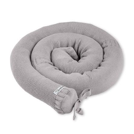 Sterntaler Pletená postel Baylee šedá
