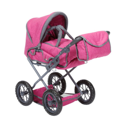 knorr® toys Wózek dla lalek Ruby - berry