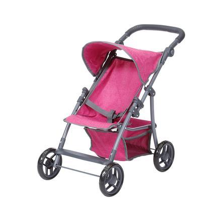 knorr® toys Wózek dla lalek Liba - berry