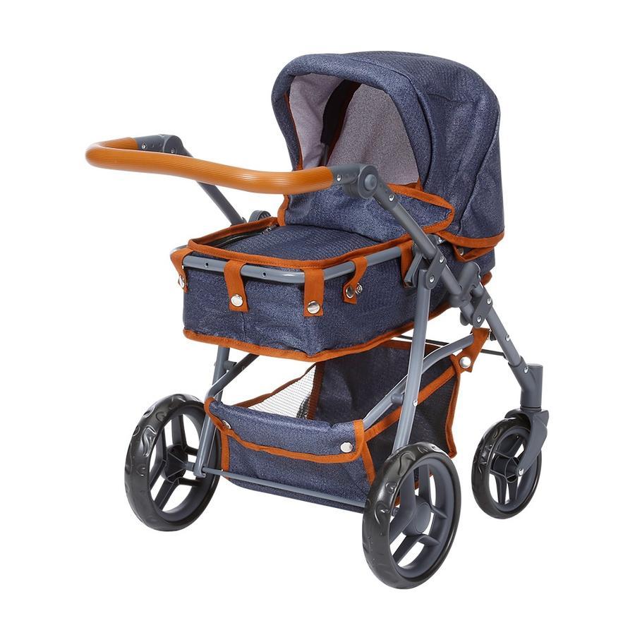 knorr® toys Wózek dla lalek Juna - dark blue