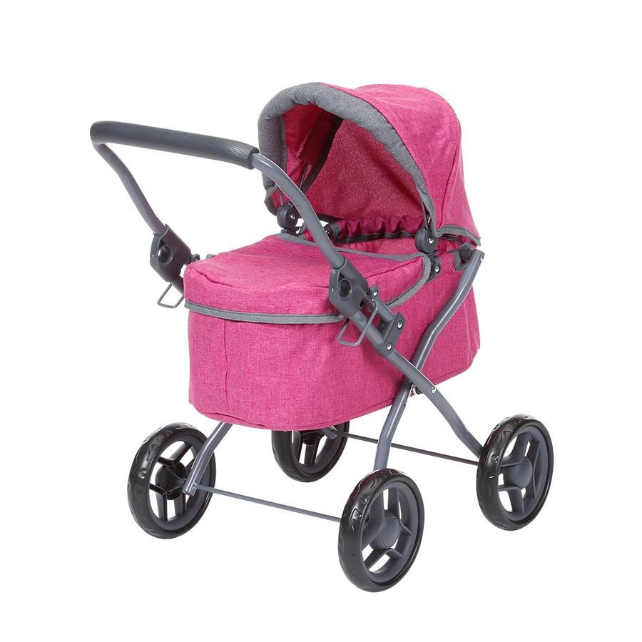 knorr® toys Puppenwagen Mini Lili, berry