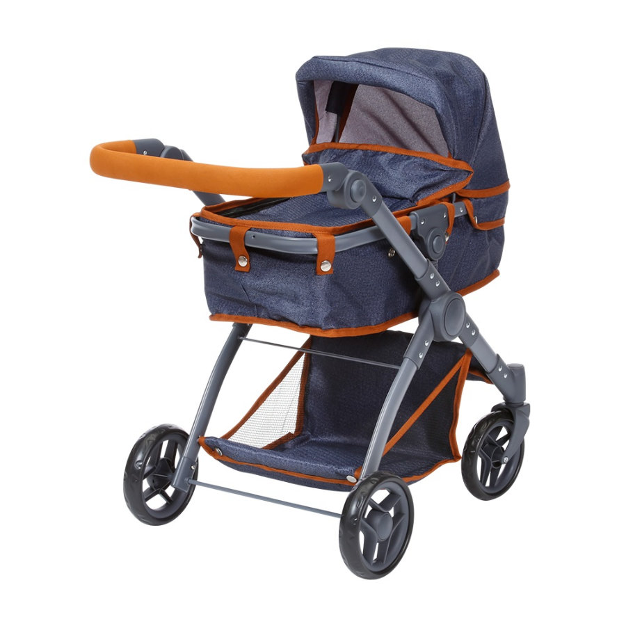 knorr® toys Wózek dla lalek Kio - dark blue