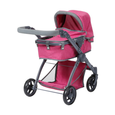 knorr® toys Puppenwagen Kio - berry