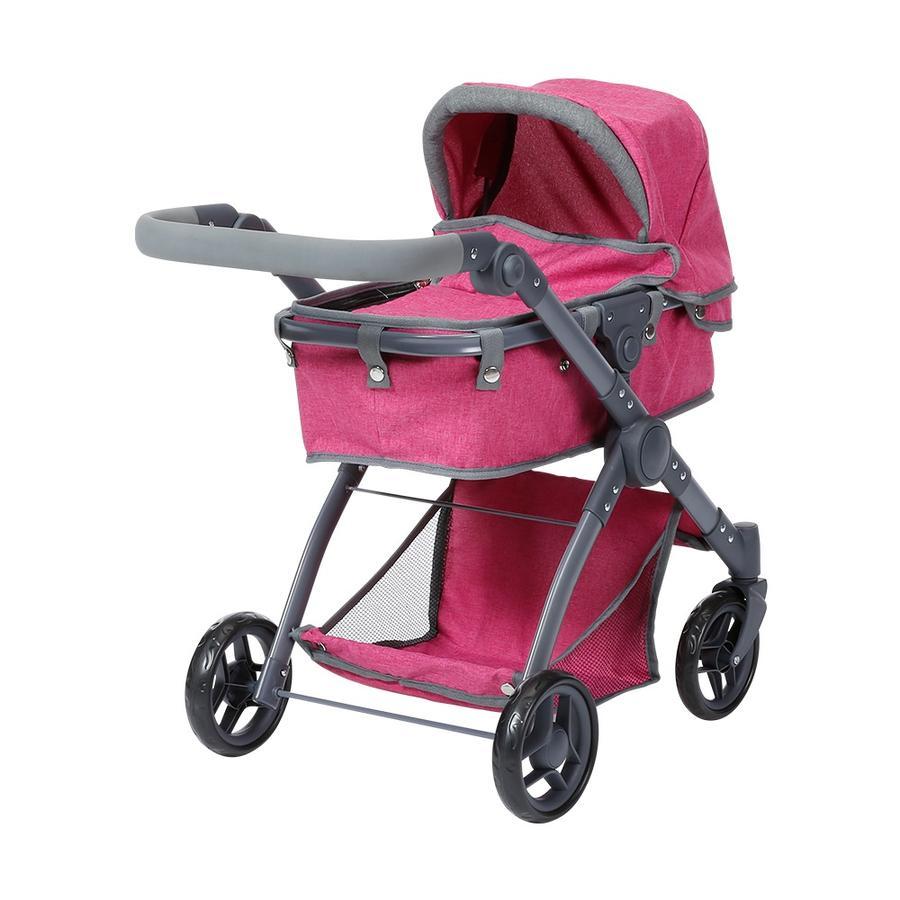 knorr® speelgoed Kio poppenwagen - bes