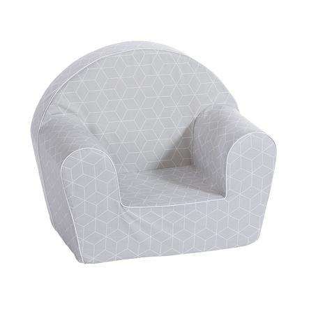 knorr® toys Kinderstoel - Kubus Grijs