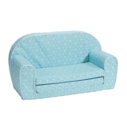 knorr® leker sofa for barn - Geo cube neo mint